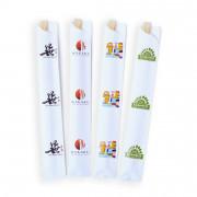 Sachet chopsticks, eetstokjes zonder stokjes