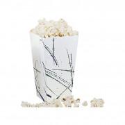 Popcorn beker, vierkant