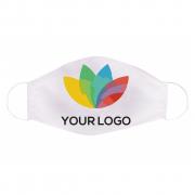 Mondkapje voor hergebruik, logobedrukt, 20 x 12,5 cm